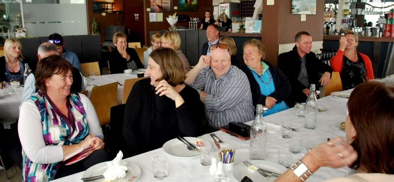 11 excited Christchurch Primary School Principals and e-leaders soon after hearing the Christchurch Earthquake Appeal Trust ICT grant announcement 30 November 2012